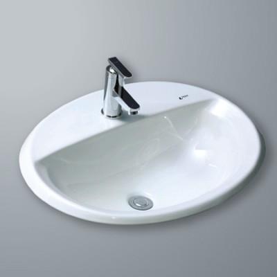 Chậu rửa mặt inax L-2395V