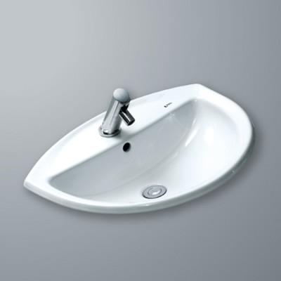 Chậu rửa mặt inax L-2396V
