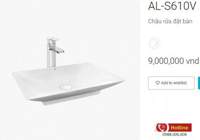 Chậu rửa lavabo inax AL-S610V