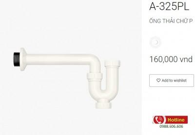Ống thải lavabo inax A-325L