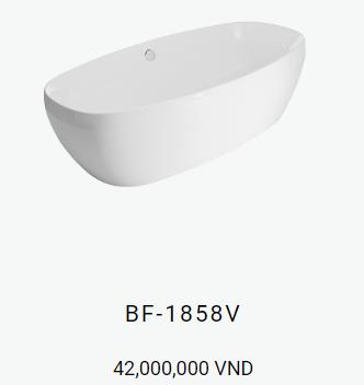 Bồn tắm inax BF 1858V