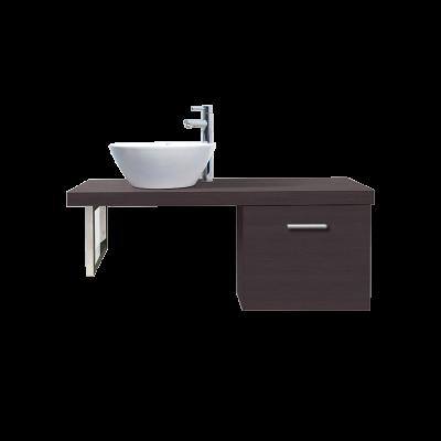 Bộ chậu rửa lavabo liền tủ inax CB1206 5QF