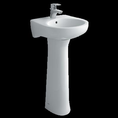 Chậu rửa lavabo treo tường inax L-284V + L-284VD