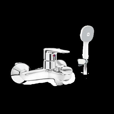 Vòi sen tắm nước nóng lạnh inax BFV-1113S-7C